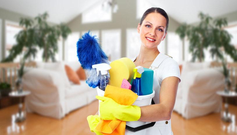 Przygotowania do sprzątania /©123RF/PICSEL
