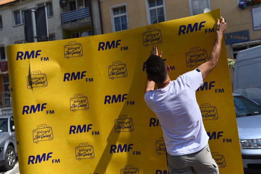 Przygotowania do Wakacyjnego Zlotu Gwiazd RMF FM /Karolina Jóźwiak /RMF FM