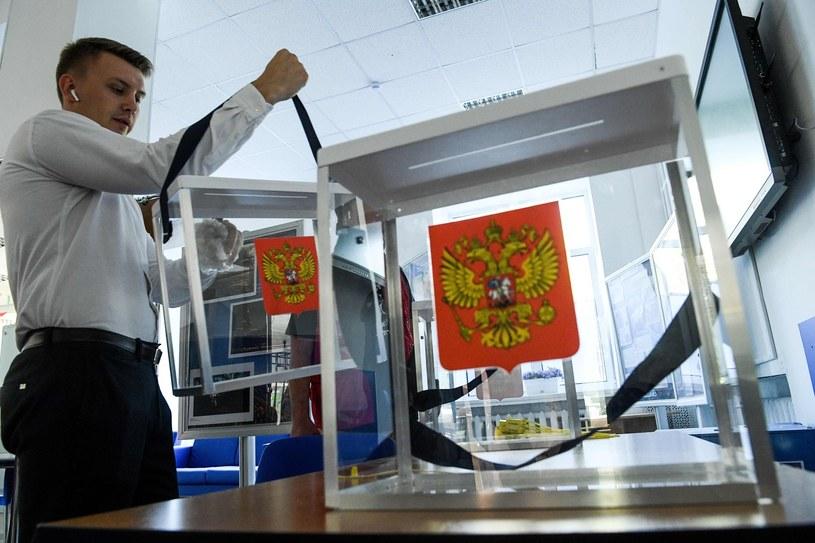 Przygotowania do wyborów w Moskwie /Kirill Kudryavtsev/ AFP /East News