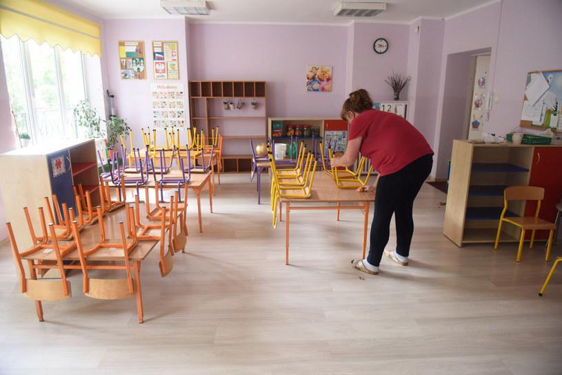 Przygotowanie przedszkola do otwarcia po przerwie /Fot. MARIUSZ KAPALA / Gazeta Lubuska / Polska Press /East News