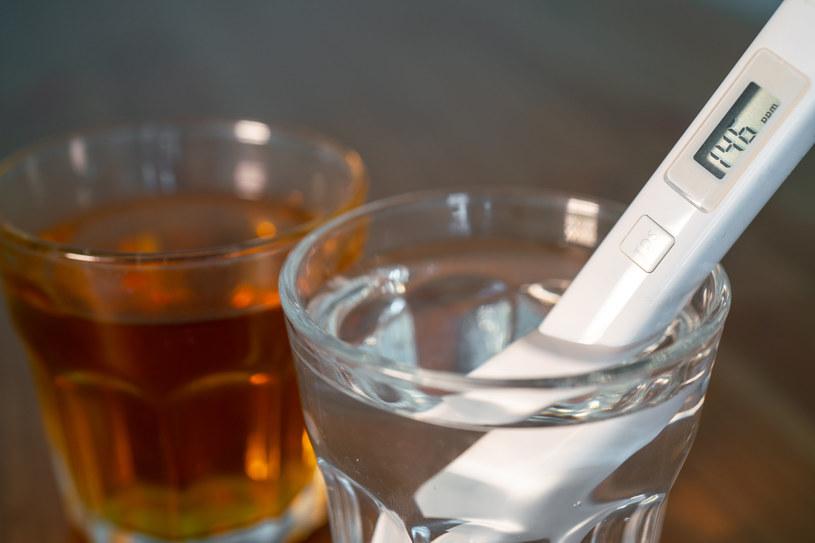 Przygotowując zdrowotny napój, warto sięgnąć po lekko podgrzaną wodę /123RF/PICSEL