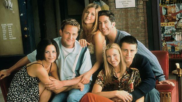 """Przyjaciele"": Courteney Cox, David Schwimmer, Jennifer Aniston, Lisa Kudrow, Matt LeBlanc, Matthew Perry /AKPA"