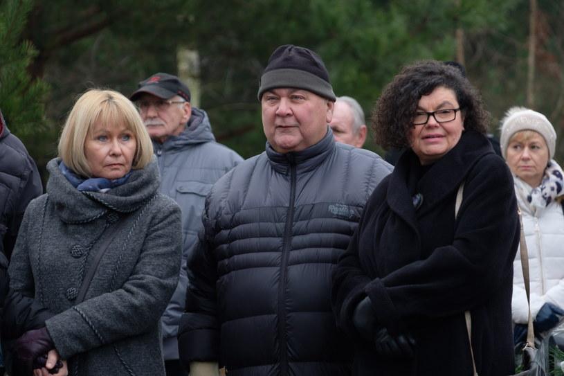 Przyjaciele i rodzina pożegnali Bohdana Smolenia /Jakub Kaczmarczyk /PAP