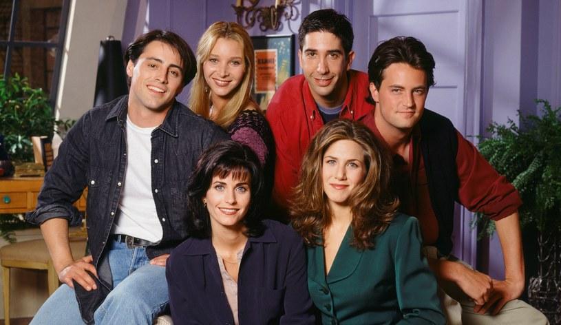 """""""Przyjaciele"""" na zdjęciu w 1994 roku /NBC / Contributor /Getty Images"""