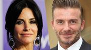 """""""Przyjaciele"""": W sieci wrze! David Beckham i Courteney Cox mają romans?!"""