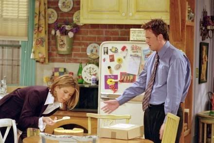 Rachel i Chandler się połączyli