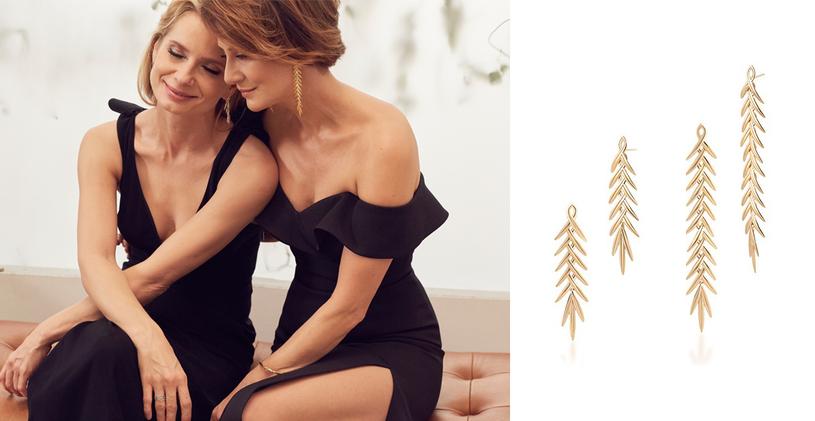 Przyjaźń Mai Ostaszewskiej i Magdaleny Cieleckiej zaowocowała wspólnym projektem biżuterii dla marki W.KRUK /materiały promocyjne