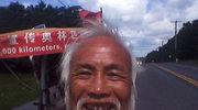 Przyjechał rikszą na olimpiadę. Niezwykła historia kibica z Chin