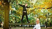Przyjęcie w objęciach złotej polskiej jesieni