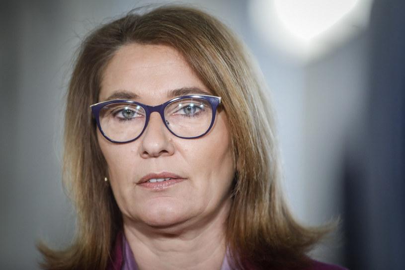 Przyjęta dziś rezolucję krytykuje m.in. Beata Mazurek (PiS) /Grzegorz Banaszak/REPORTER /Reporter