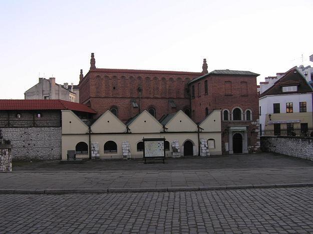 Przyjeżdżający do Małopolski najczęściej chcieli zwiedzać zabytki Krakowa (nz. Stara Synagoga) /INTERIA.PL