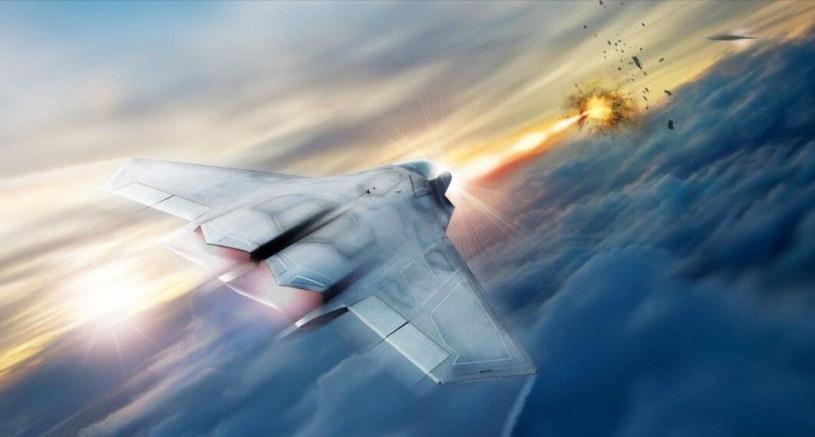 Przykład broni laserowej na pokładzie myśliwca autorstwa Lockheed Martin /materiały prasowe