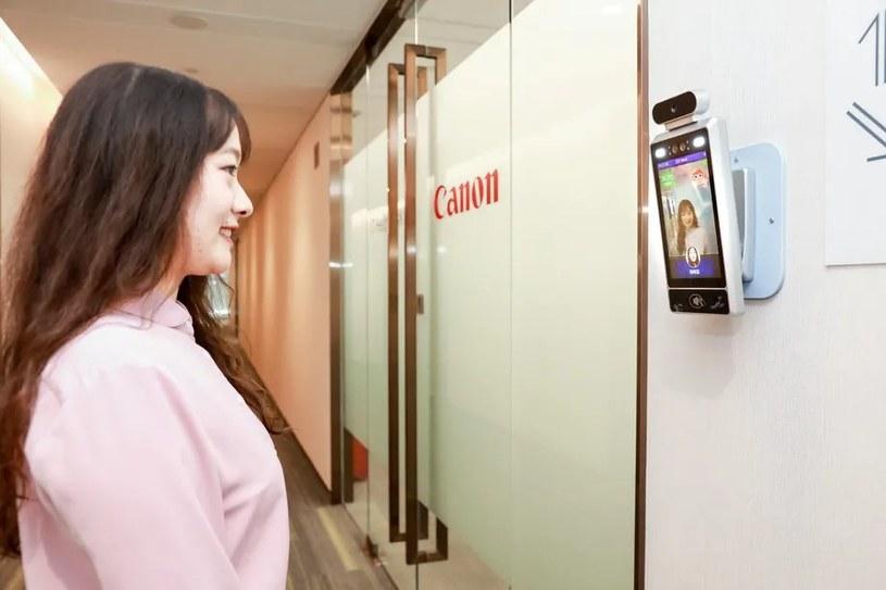 Przykład działania technologii Canona /materiały prasowe
