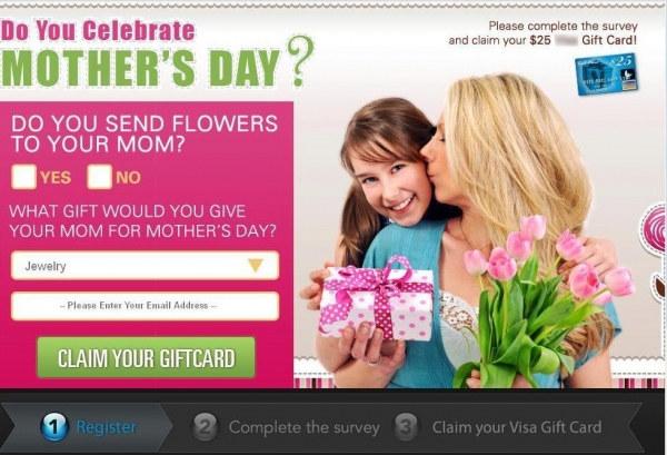 Przykład fałszywej strony stworzonej przez cyberprzestępców przy okazji Dnia Matki /materiały prasowe