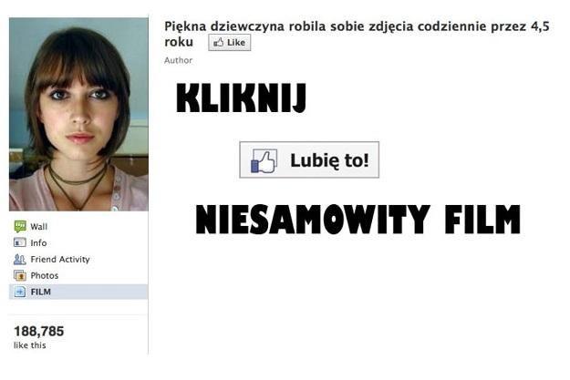Przykład oszustwa na Facebooku /vbeta