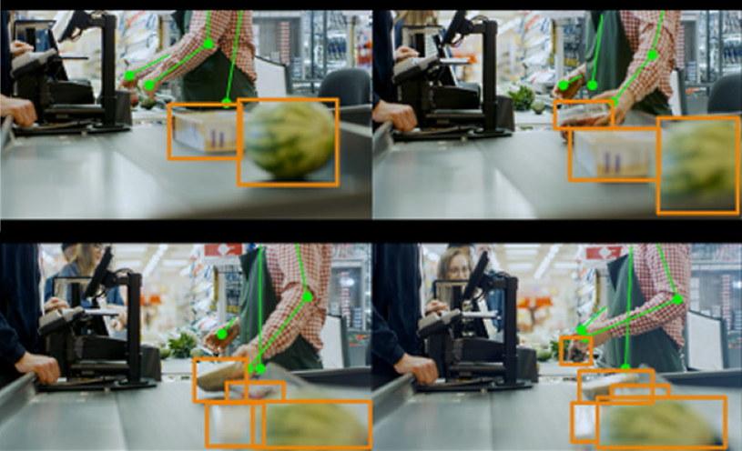 Przykład śledzenia w czasie rzeczywistym z produktem i zadaniem w kasie /materiały prasowe