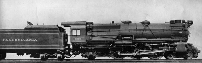 Przykładowa lokomotywa z tego okresu historycznego /Wikipedia