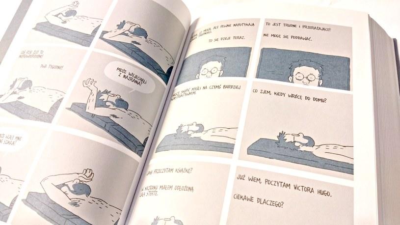 Przykładowa strona komiksu /INTERIA.PL