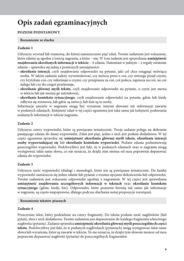 Przykładowe zadania z jęz. angielskiego /