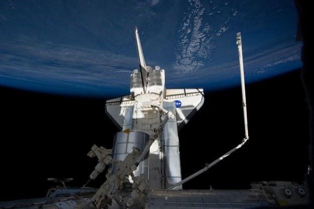 Przykładowe zdjęcie wykonane w kosmosie Nikonem D3S /materiały prasowe