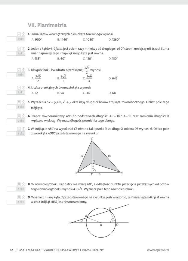 matura z matematyki 2021 poprawka