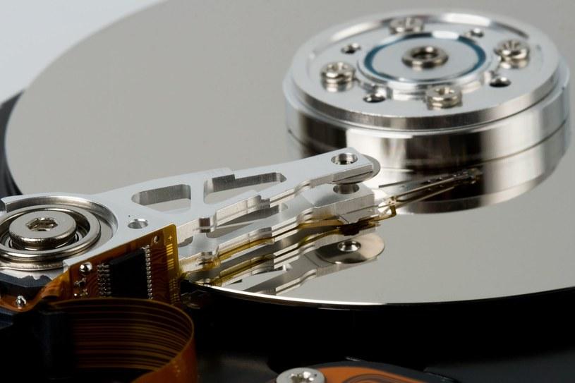 Przykładowy dysk HDD /123RF/PICSEL