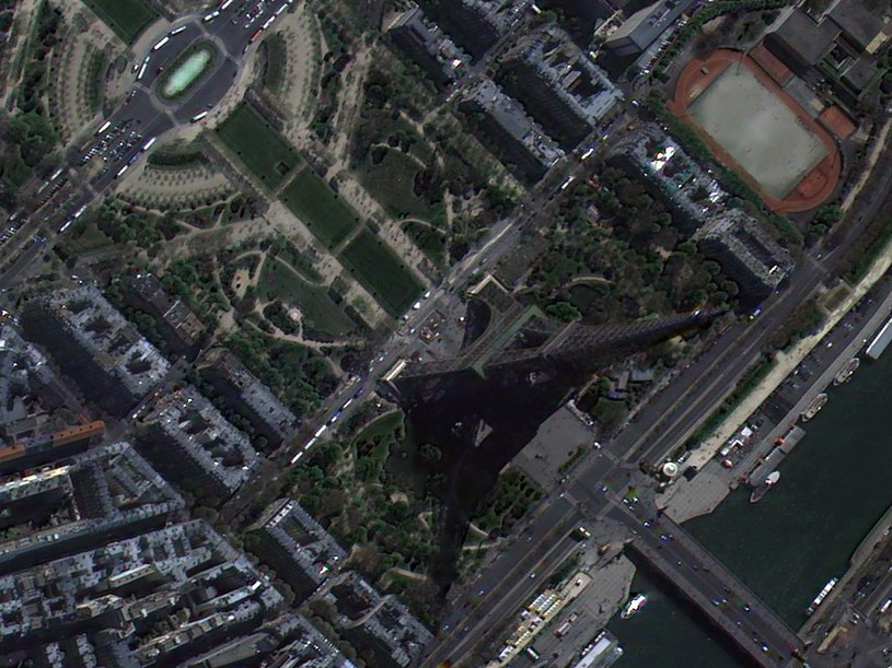 Przykładowy wycinek zdjęcia VHR, wykonany przez satelitę KOMPSAT-3. Źródło: Apollo Imaging /materiały prasowe