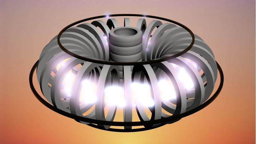 Przykładowy wygląd reaktora fuzji jądrowej /123RF/PICSEL