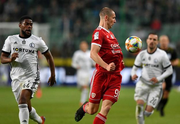 Przykra niespodzianka dla warszawskich kibiców. Legia przegrała 0-1 z Piastem Gliwice /Piotr Nowak /PAP