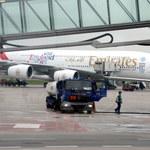 Przymusowe lądowanie Airbusa A380 na Okęciu