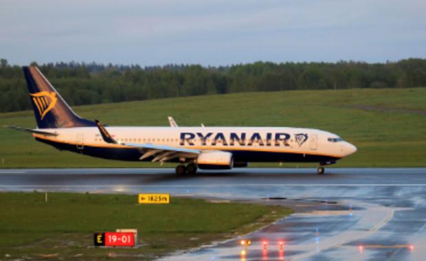 Przymusowe lądowanie samolotu na Białorusi