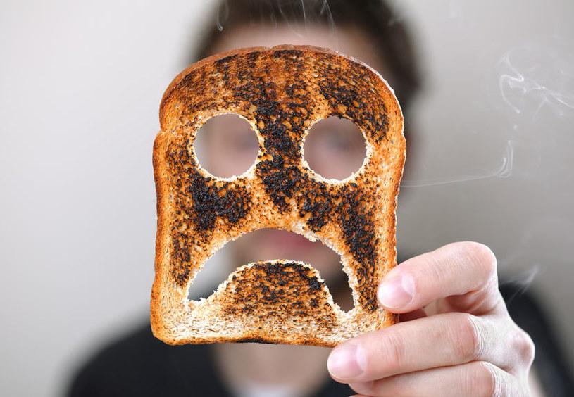 Przypalona żywność /©123RF/PICSEL