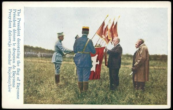 Przysięga Armii Polskiej we Francji - 22 czerwca 1918 r.