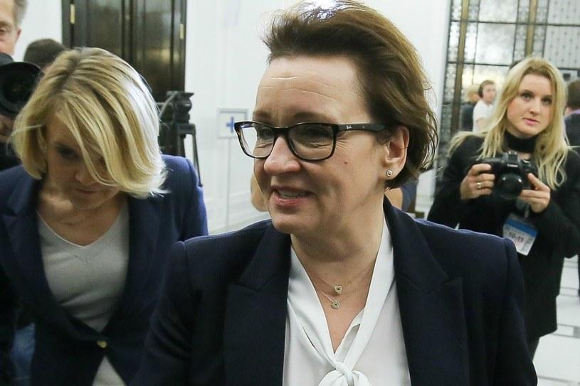 Przyszła minister edukacji narodowej Anna Zalewska /Paweł Supernak  (PAP) /PAP