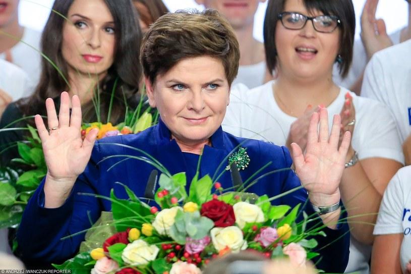 Przyszła premier Beata Szydło /Andrzej Iwańczuk /Reporter