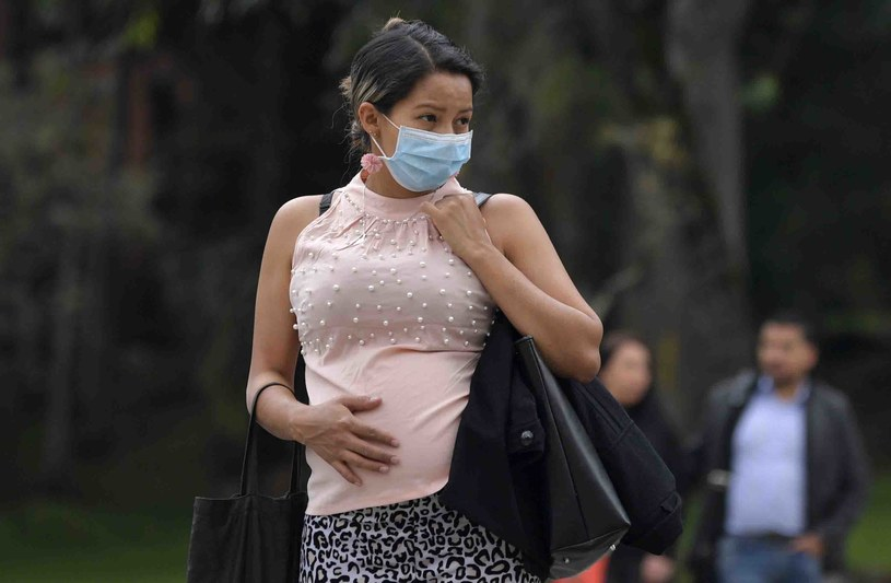 Przyszłe matki nie muszą zamartwiać się wpływem koronawirusa na przebieg ciąży /Raul Arboleda /AFP
