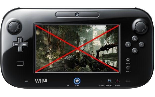 Przyszli posiadacze konsoli Wii U będą musieli obejść się smakiem... /Informacja prasowa