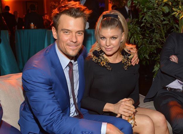 Przyszli rodzice Fergie i Josh Duhamel fot. Alberto E. Rodriguez /Getty Images/Flash Press Media