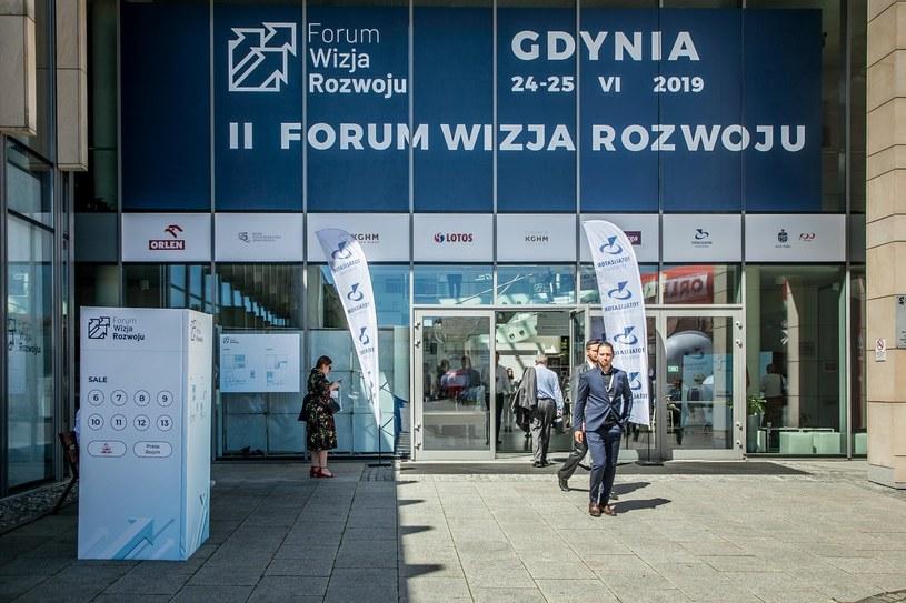Przyszłość e-gospodarki była tematem debaty odbywającego się w Gdyni na II Forum Wizji Rozwoju /INTERIA.PL