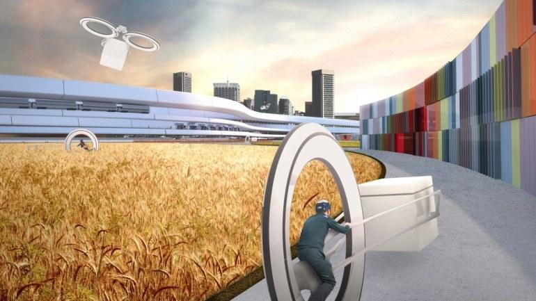 Przyszłość komunikacji miejskiej to projekty takie, jak Boswash (Zdjęcie: Höweler+Yoon Architecture) /materiały prasowe