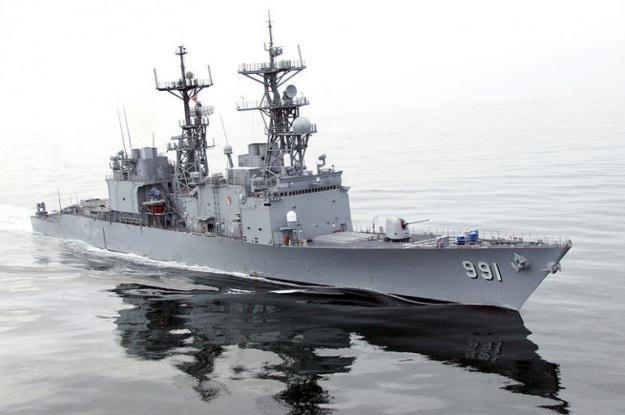 Przyszłość paliw dla okrętów - tu USS Fire - to woda morska /materiały prasowe