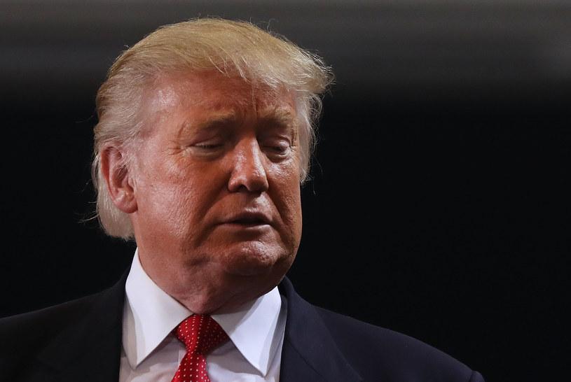 Przyszły prezydent USA Donald Trump /Getty Images
