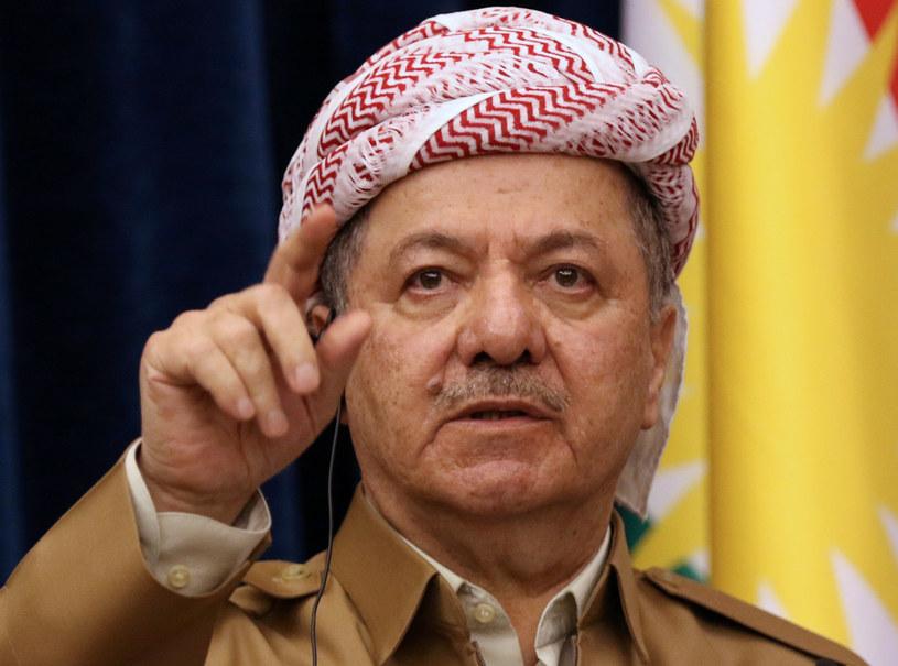Przywódca irackiego Kurdystanu Masud Barzani /SAFIN HAMED /AFP
