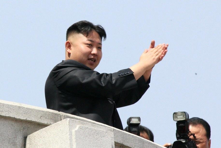 Przywódca Korei Płn. Kim Dzong Un /Kim Dzong Un /PAP/EPA