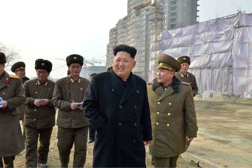 Przywódca Korei Północnej, Kim Dzong Un, zdj. ilustracyjne /AFP