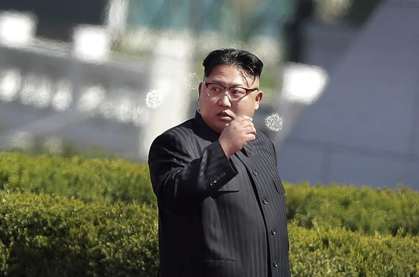 Przywódca Korei Północnej Kim Dzong Un /AP /East News