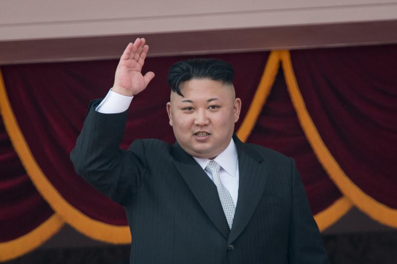 Przywódca Korei Północnej Kim Dzong Un /ED Jones /AFP