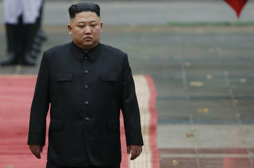 Przywódca Korei Północnej Kim Dzong Un /Kham/Pool Photo via AP /East News