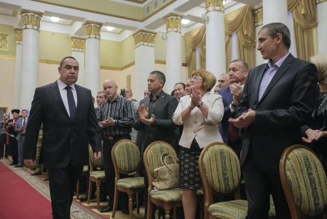 Przywódca Ługańskiej Republiki Ludowej Ihor Płotnicki /YURIY STRELTSOV /PAP/EPA