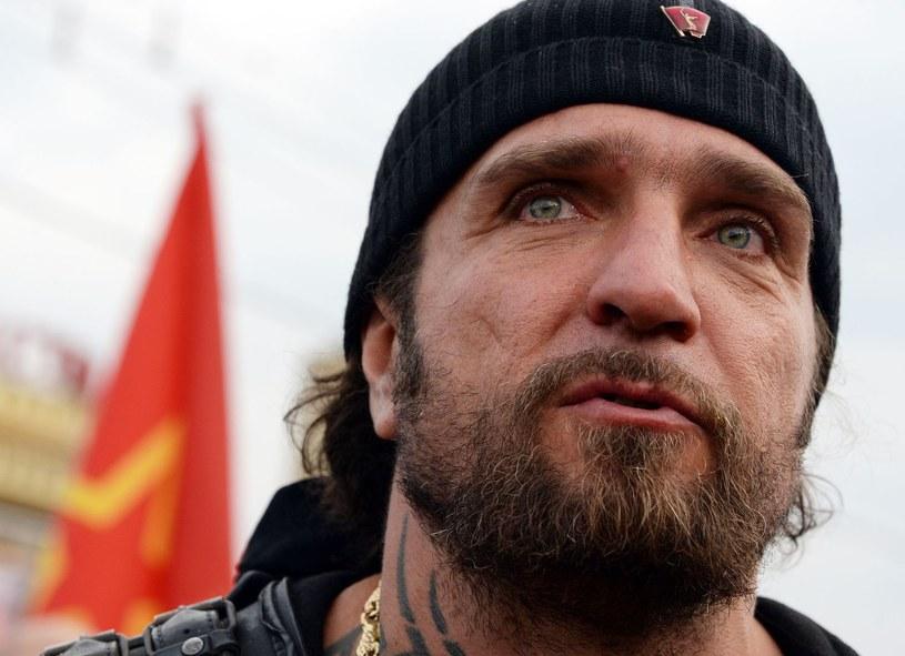 Przywódca rosyjskich motocyklistów Aleksandr Załdostanow /AFP